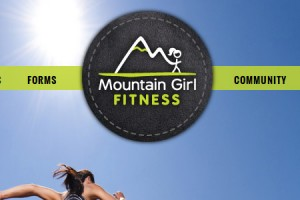Portfolio Mountain Girl Web Design Small