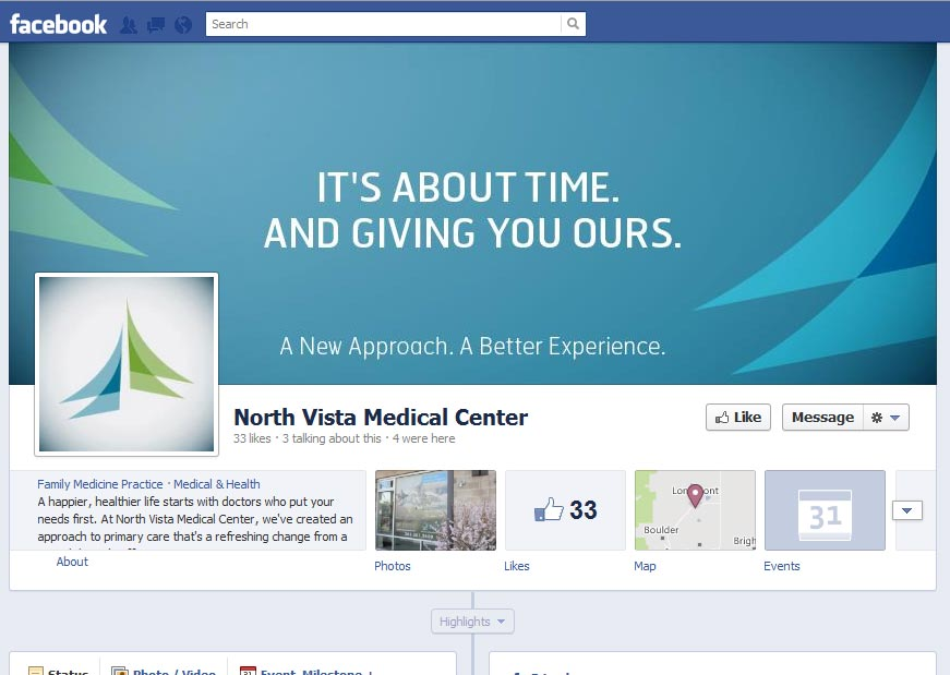 North Vista Medical Center Social Media Marketing