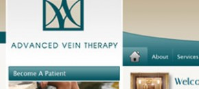 Advanced Vein Therapy Website Development