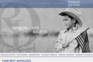 Rodriguez Law Office Custom Website Design