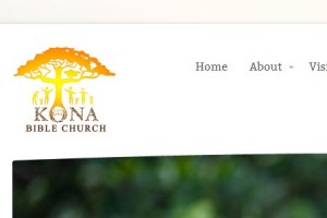 Kona Bible Church Web Design