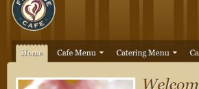 Fireside Cafe Web Design Small