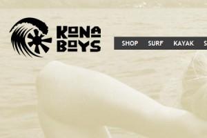 Kona Boys Web Design Small