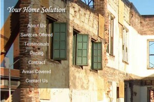 Your Home Solution Web Design Cover