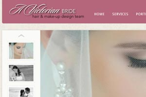 A Victorian Bride WordPress Site